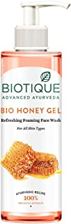 Biotique Bio Honey Gel Refreshing Foaming Face Wash for All Skin Types, 200ml