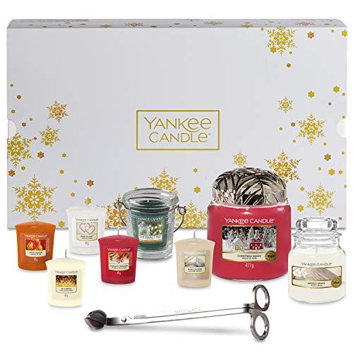 Yankee Candle, set de regalo de Navidad con accesorios y vel