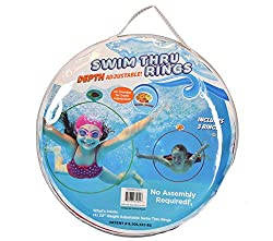 cheap Water Sports Swimming Rings (3) – Children's Pool Toys – Adjustable Swimming Rings for Swimming…