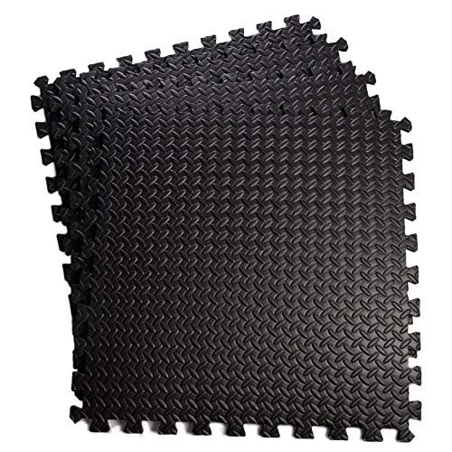 FR&RF Esteras profesionales de espuma entrelazadas, baldosas, para gimnasio, absorción de golpes, impermeables, cómodas, para el suelo del hogar