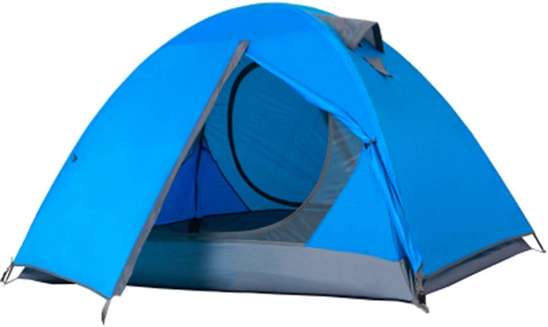 muy popular Tienda Tienda Tienda al Aire Libre Doble Doble Poste de Aluminio 2 Personas Camping Plus Salida a la Montaña Camping Jugara Anti-tormenta eléctrica  seguro de calidad