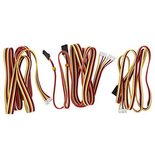 Cable de motor paso a paso, cable de motor de impresora liviano, centro de mecanizado de tamaño...