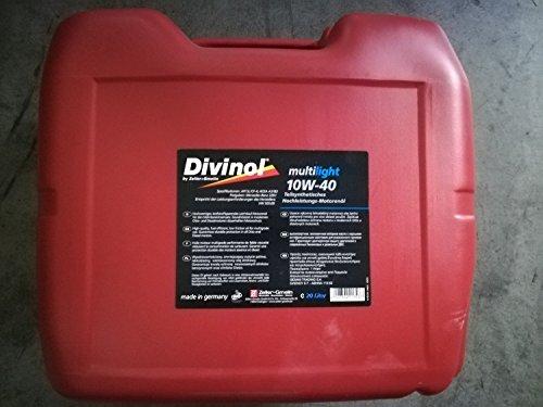 Divinol 49610 20-Liter Multilight 10W-40 Motorenöl