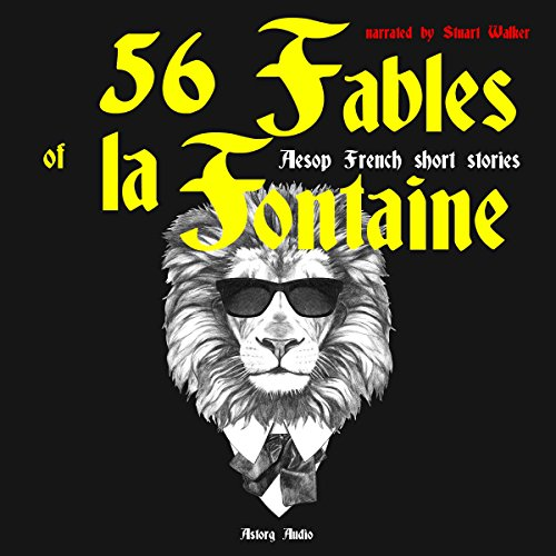 56 Fables of la Fontaine audiobook cover art
