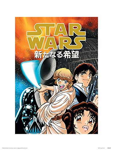 Star Wars PPR44807 Affiche imprimée 30 x 40 cm (Anime Assault), Multicolore