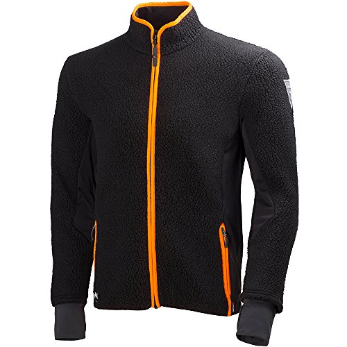 Helly Hansen Workwear Fleecejacke Mjolnir Jacket Faserpelz Arbeitsjacke, 3XL, schwarz, 72270