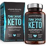 Tune Your Keto - Ketogenic Multivitamin + Electrolytes with MCT, Collagen, Magnesium, Potassium, MCTSmart™