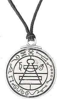 Men's necklace Talisman Secret Seal Of Solomon Pentacle Pendant Hermetic Enochian Kabbalah Pagan Wiccan Jewelry Necklace