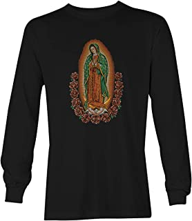 Our Lady of Guadalupe - Virgin Mary Unisex Long Sleeve Shirt