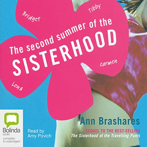 The Second Summer of the Sisterhood audiobook cover art