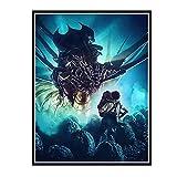 IUYTRF Aliens-Alien Xenomorph Movieposters Sala de estar Arte de la pared Impresiones en lienzo ...