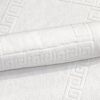 Luxury Hotel / Spa Collection - 4 piece Terry Bath Rug Set (Authentic Greek Key Design), Turkish Cotton (B003WOAAXS) | Amazon price tracker / tracking, Amazon price history charts, Amazon price watches, Amazon price drop alerts