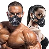DMoose Workout Mask 3.0, Exercise Mask for Men Women with 16 Adjustable Breathing Levels, Training in High Altitude Elevation Simulation, Increase Cardio Endurance, for Boxing Running HIIT Gym Fitness