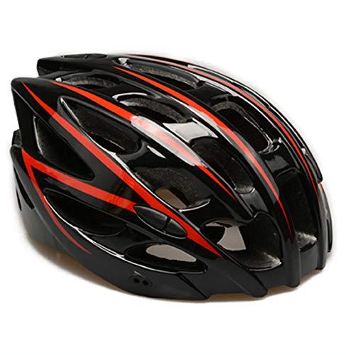 DETZH Ajustable de luz de la Bicicleta Casco de Men & Women...