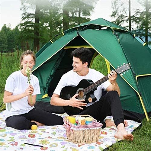 Plztou Tienda de campaña for Acampar al Aire Libre Tienda de campaña Espesado Exterior Supervivencia Equipo de Campamento Combinación Conjunto Anti-Motocicleta Brigada Riding