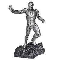 マーベル・コミックアベンジャーズ4最後の戦アイアンマンのトニー・スターク無比例塗装済みフィギュア (銀色)
