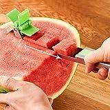 Tagliafrutta con bordo arrotondato, utensile da taglio per anguria, per feste che fanno picnic con frutta che escono