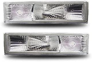 SPPC Bumper Lights Park/Signal Lights Euro For Chevy Astro Van - (Pair) Turn Lamp