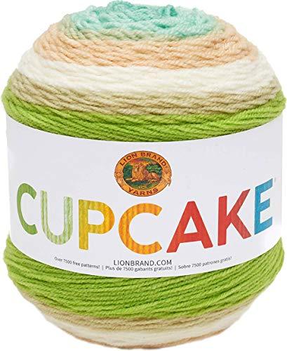 Lion Brand Yarn Cupcake Yarn, Sand Castle