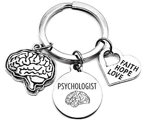 Psychologist Keychain