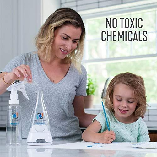 Force of Nature Multi-Purpose Cleaner, Sanitizer, Disinfectant & Deodorizer | Kills 99.9% of Germs (Starter Kit & 5 Capsules)