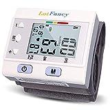 LotFancy Tensiómetro de Muñeca Digital Automático de Presión Arterial con Estuche...