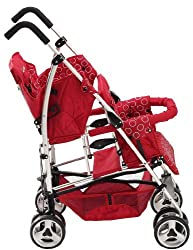 Double Umbrella Stroller for tall parents