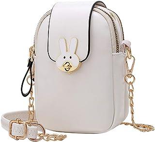 VooDirop Damen Umhängetasche Leder Frauen Brieftasche Handtasche Kleine Mini Bag Crossbody Schultertasche Mode Damentasche...