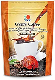 DXN Lingzhi Black Coffee Ganoderma 20 Sachets ( 4 Packs )