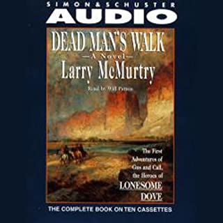 Dead Man's Walk audiobook cover art