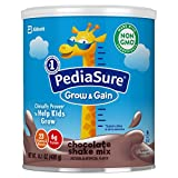 PediaSure Grow & Gain Non-GMO Shake Mix Powder, Nutritional Shake For Kids, With Protein, DHA, Antioxidants, and Vitamins & Minerals, Chocolate, 14.1 oz, 3 Count