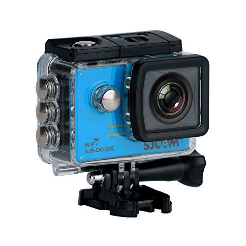 SJCam SJ5000 Plus (versión española) - Videocámara deportiva con chip Ambarella y sensor Panasonic 16MP (WiFi integrado LCD 1.55'', 2k...