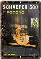 ポコノのシェーファー 金属板ブリキ看板警告サイン注意サイン表示パネル情報サイン金属安全サイン
