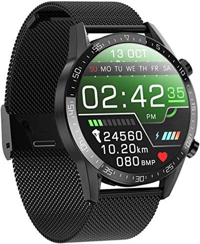Smartwatch El último modelo de pantalla táctil completa T11 hombres s ritmo cardíaco presión arterial monitor IP68 impermeable tiempo Smartwatch VS DT78 L5 L8 L7-B