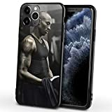 FDHG - Custodia protettiva per iPhone 12/12 Mini/12 Pro/12 Pro Max Bryant GiGi, Los Angeles Lakers 24 # Black Mamba ultrasottile Soft Shell V-12 (5,4 cm)