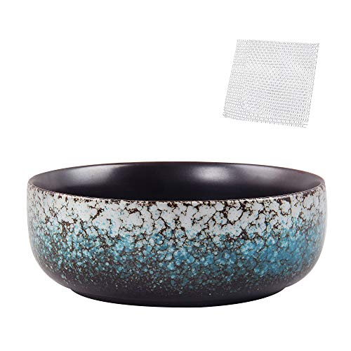 kilolfy Happy Bonsai Pot 6.3 inch Glazed Ceramic Succulent Planter Container