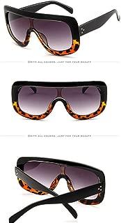 Yangjing-hl Gafas de Sol con Montura Grande para Mujer Gafas de Sol clásicas para Hombre Gafas de Sol clásicas Grandes UV400 para Exteriores