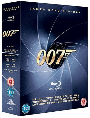 007 Bond - Dr No / From Russia With Love / Thunderball / For Your Eyes Only / Live And Let Die / Die [Edizione: Regno Unito] [Edizione: Regno Unito]