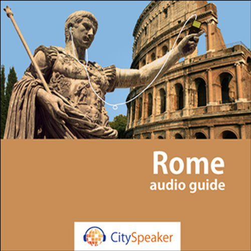Rome (Audio Guide CitySpeaker) audiobook cover art