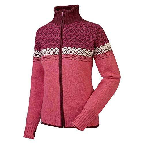 Salewa Fanes Wo W Fz SWTR - Jersey pour Femme, Couleur Rouge, Taille 46/40