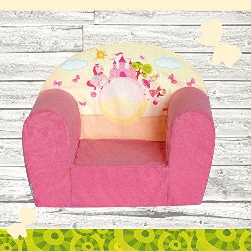 FORTISLINE Kindersessel Mini Pink Castle W387_09
