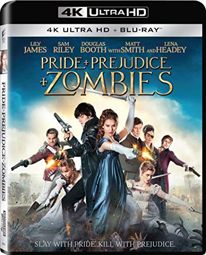 Pride and Prejudice and Zombies [Blu-ray 4K UHD + Blu-ray 2K]