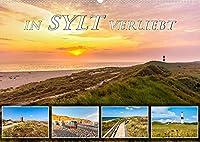 IN SYLT VERLIEBT (Wandkalender 2022 DIN A2 quer): Zauberhafte Impressionen von der Insel (Monatskalender, 14 Seiten )