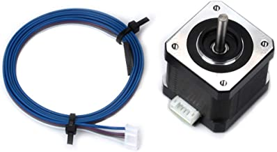 FYSETC 3D Printer Motors Nema 17 Stepper Motor 42-40 Motor 1.5A 2 Phase 4 Wires 1.8 Degree with 39.3 inch Cable for 3D Printer Extruder Y Axis CNC Reprap Creality CR-10 10S Ender 3
