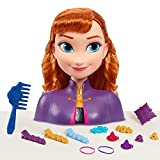 Disney Frozen 2 têtes de coiffage Anna, 14 pièces.