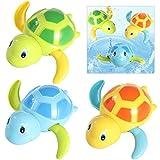 TOYMYTOY 3pcs bebé baño juguetes de natación bañera linda tortuga natación...