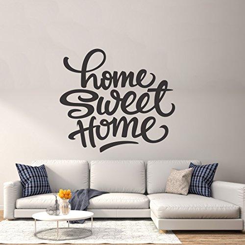 Vinilo adhesivo decorativo para pared, diseño de Sweet Home