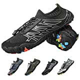 CAMFOSY Mens Womens Water Shoes, Barefoot Running Hiking Shoes Quick Dry Sports...