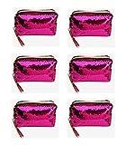 VIVIMORE Fashion Mermaid Paillettes Cosmetic Bag Pochette con Cerniera Reversibile Astuccio per...