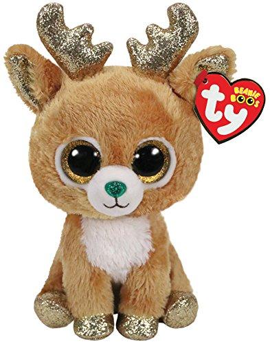 Ty Beanie Boo's Glitzy the Reindeer Soft Toy